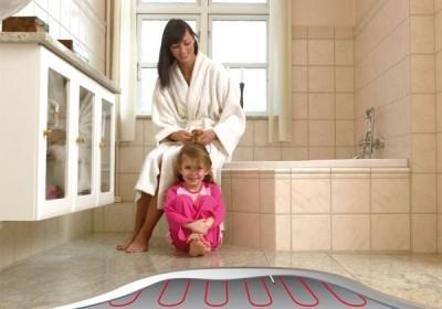 Электрический пол в ванной