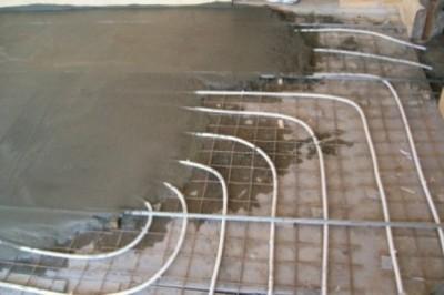 основание водяного теплого пола