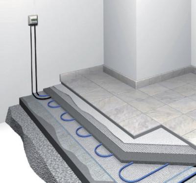 Система теплого пола с терморегулятором
