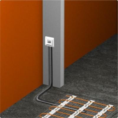 нагревательный мат с маленьким шагом и терморегулятором