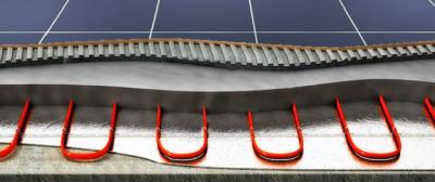 Нагревающийся шнур в стяжку