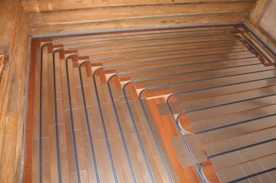 Теплый пол под ламинированное покрытие