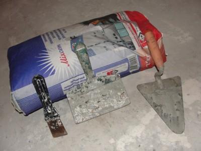 Инструменты и материалы для бетонной стяжки