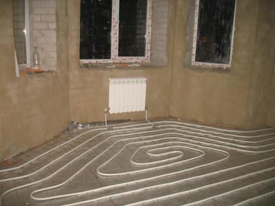 Теплый пол с подключением к радиаторам в квартире