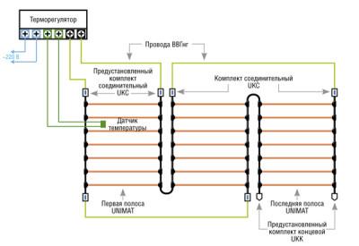 Схема подключения GTmat