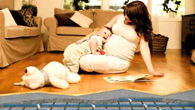 Инфракрасный теплый пол RexVa для детской и зала